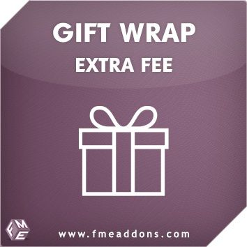 Gift Wrap Extension For Magento