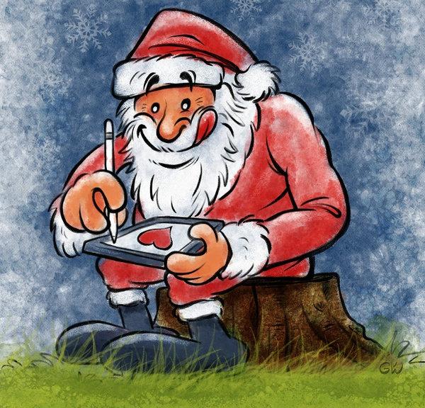 XMAS 2016 Brush Set: 40 Procreate Brushes by Georg vW