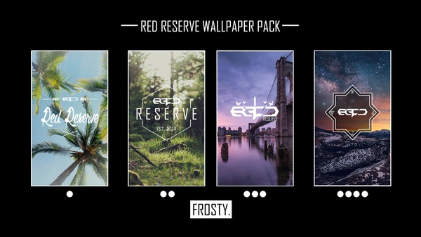 Red Reserve Wallpaper Pack