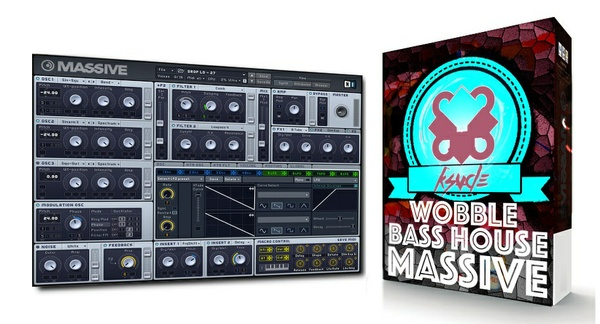 Wobble Bass House Presets For N.I Massive