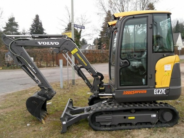 VOLVO EC27C COMPACT EXCAVATOR SERVICE REPAIR MANUAL - DOWNLOAD