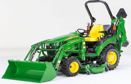 John Deere Compact Utility Tractor 2025R Technical Service Manual (TM127019)