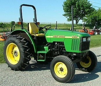 John Deere 5210, 5310, 5410, 5510 Tractors Diagnostic and Repair Technical Service Manual (tm1716)