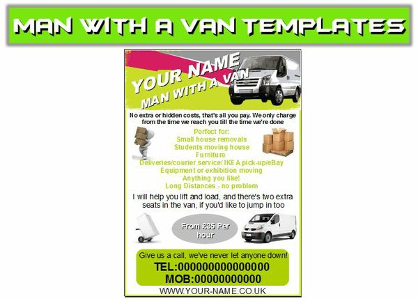 man with a van Business