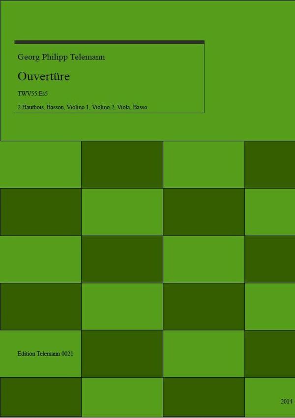 0021 Ouverture in Es (E-flat) TWV55:Es5