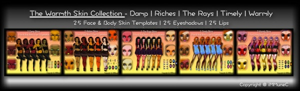 25 The Warmth Skin Collection With Resell Rights