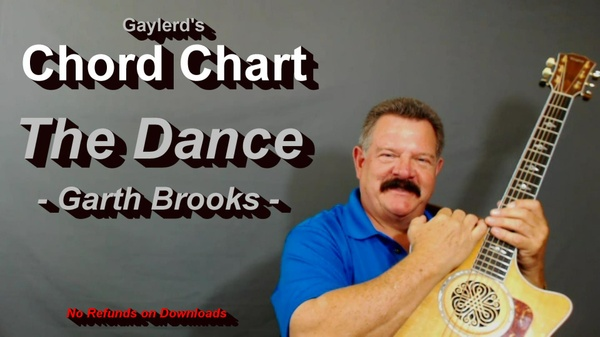 The Dance - Chord Chart