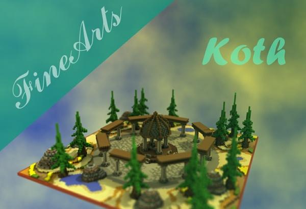 [Minecraft] Ruins Koth!