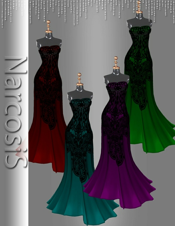 Gown 01 RESELL RIGHTS