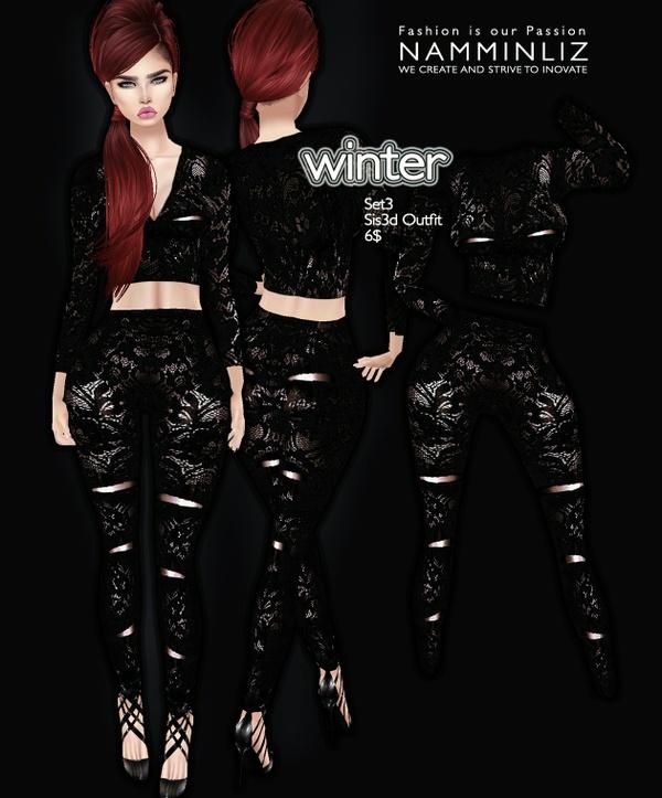 Winter set 3 imvu Sis3d outfit