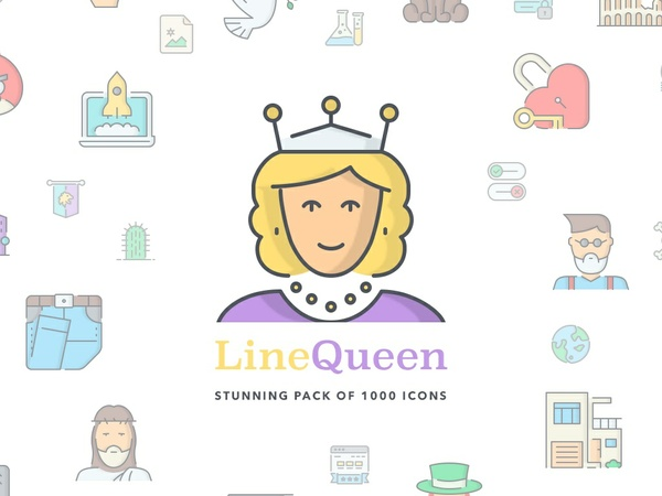 LineQueen Icons