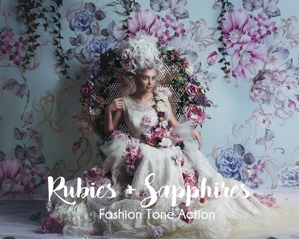 Rubies + Sapphires - Fashion Tone Single Action
