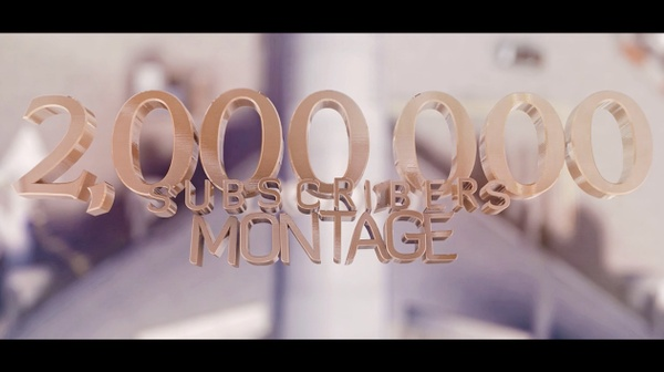 FaZe Adapt's 2 Million Subscribers Montage PROJECT FILE (w/ CLIPS/CINS/C4D FILES)