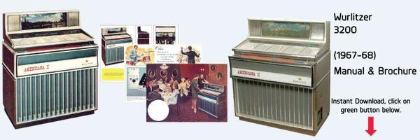 "Wurlitzer Model 3200 ""Americana II"" (1967-68)"