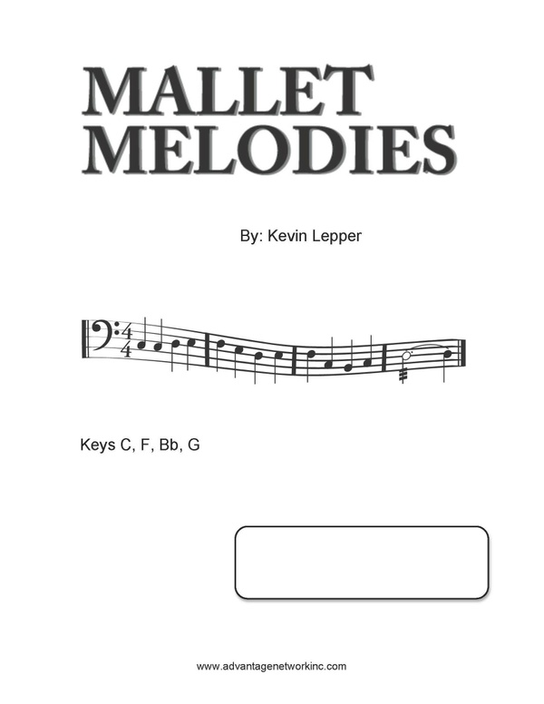 Mallet Melodies Bass Clef