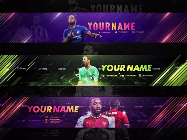 EDITABLE FIFA 18 BANNERS! TEMPLATE BANNER FIFA 18 | MOPE