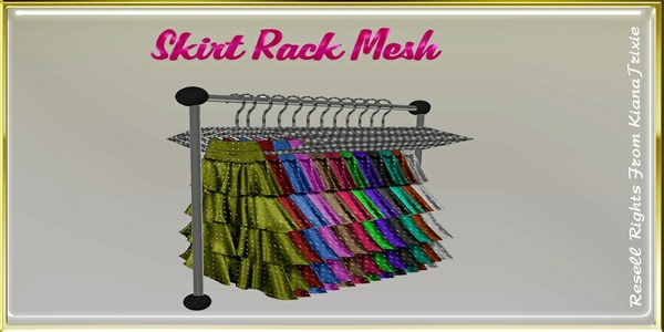 Skirt Rack Mesh Catty Only!!!