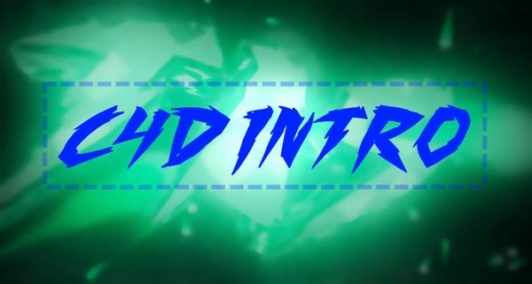 [Bax] 3D Text intro [C4D+AE]