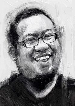 Afdlin Shauki . A4 300dpi. Cheap Portrait