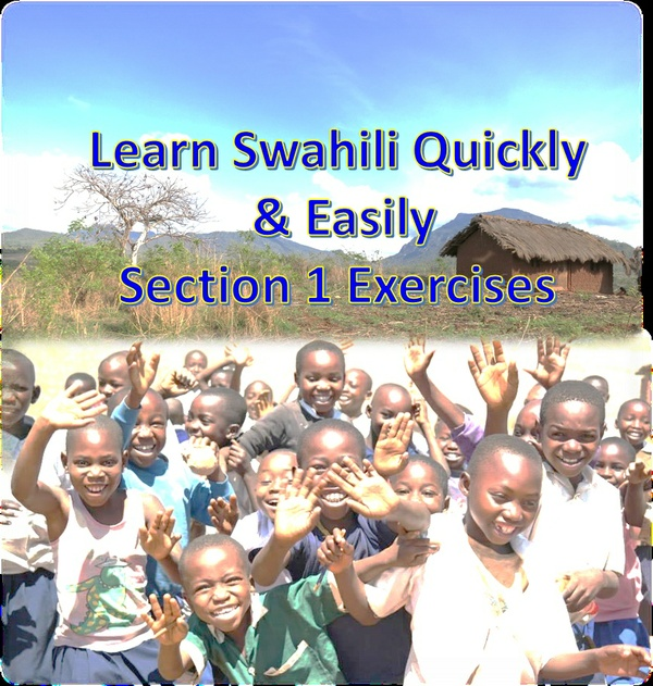 Learn Swahili Quickly & Easily Section 1 Exercises