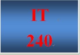 IT 240 Week 7 Individual DNS Name Resolution