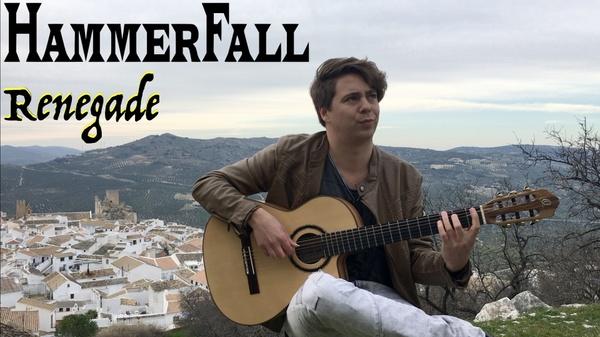 Renegade (HammerFall) - Solo guitar arrangement by Thomas Zwijsen