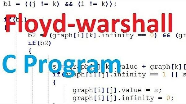 Floyd warshall c code