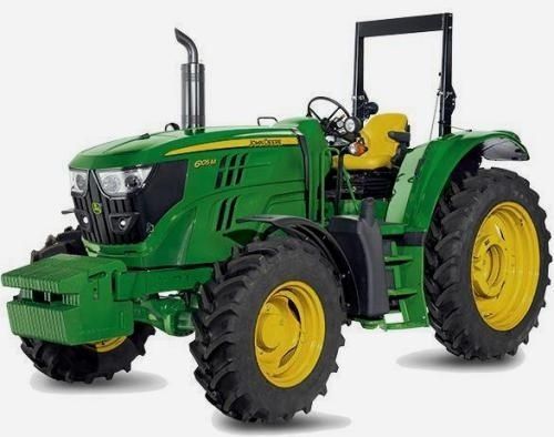 John Deere 6105M, 6115M, 6125M, 6130M, 6140M  (European Edition) Tractors Repair Manual (TM405819)