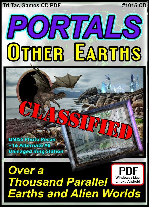 TTG#1015 FW Portals I Catalog of Alternate Worlds