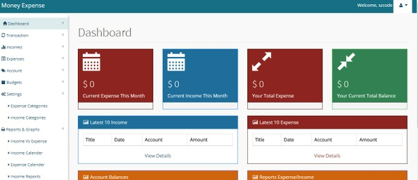 Money Expense - Expense Tracker Application