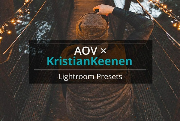 AOV x KristianKeenan Lightroom Presets