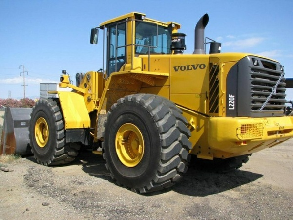 VOLVO L220F WHEEL LOADER SERVICE REPAIR MANUAL - DOWNLOAD