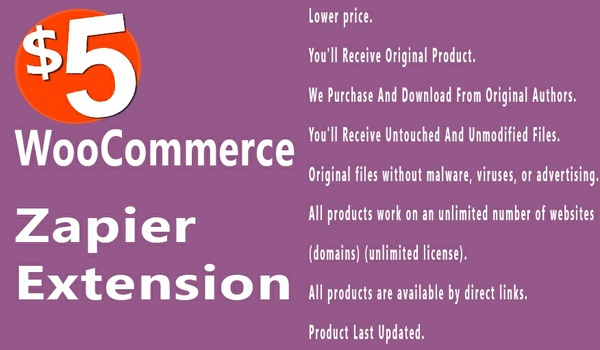 WooCommerce Zapier 1.7.0 Extension