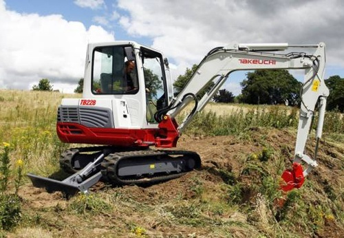 Takeuchi TB228 Mini Excavator Service Repair Workshop Manual Download(S/N:12280004 & Above)