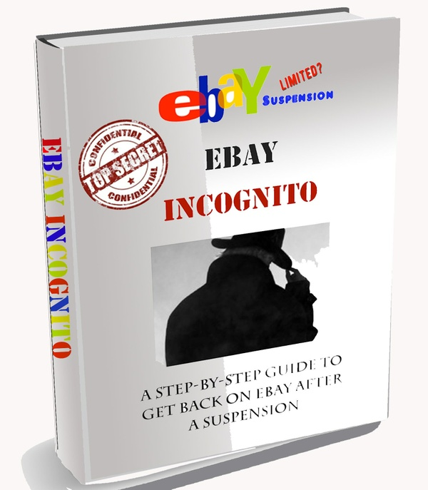 Ebay Incognito! A Guide To Ebay & Paypal After Suspension