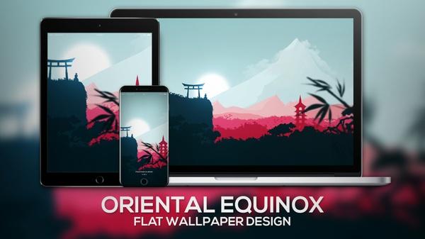 """Oriental Equinox"" | Wallpaper"