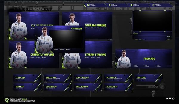 Twitch Package Fifa 18
