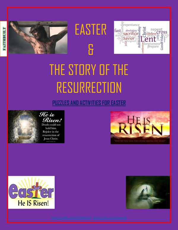 EASTER PUZZLER: HE IS RISEN!