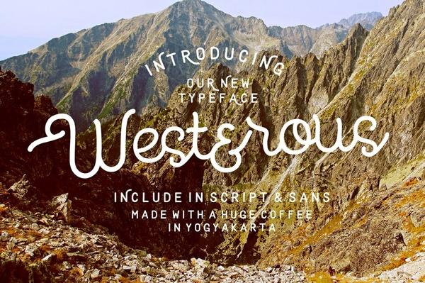 Westerous Font