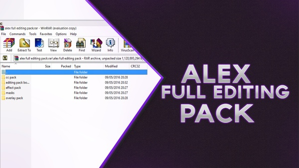 Koon alex: Full Editing Pack 1!