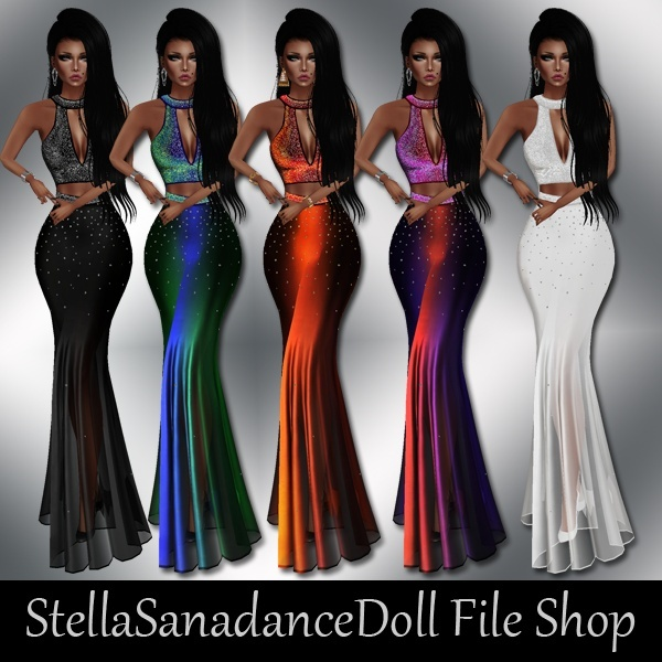 S234 Glow Gown, NO RESELL