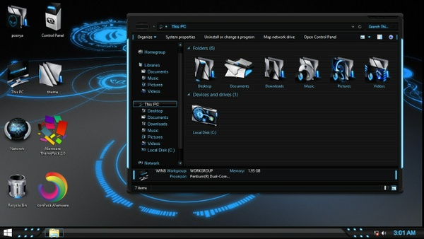 Alienware IconPack