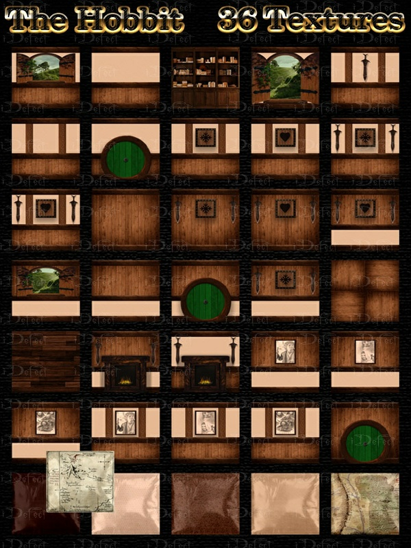 The Hobbit Room Texture