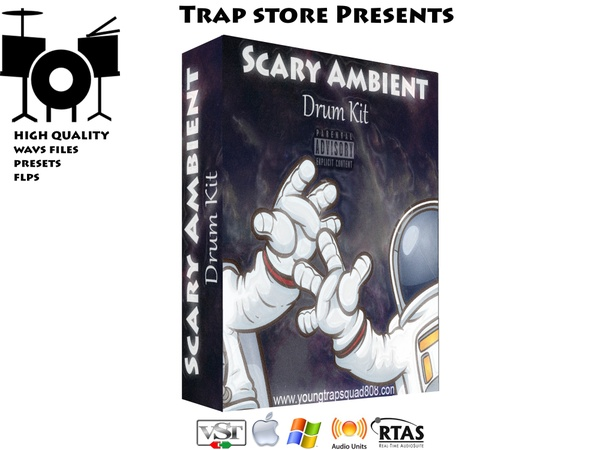 Trap Store Presents - Scary Ambient Drum Kit
