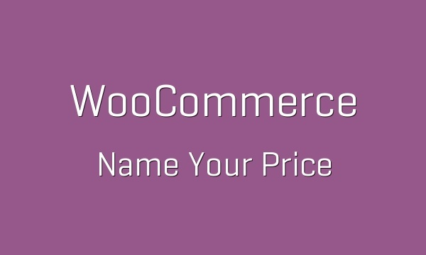 WooCommerce Name your Price 2.6.3 Extension
