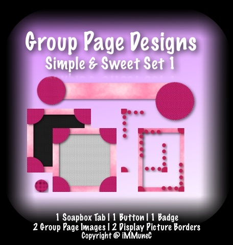 7 Piece Simple & Sweet Set 1 Group Page Design