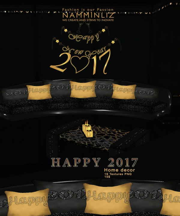 Happy 2017 imvu Home decor 19 textures PNG