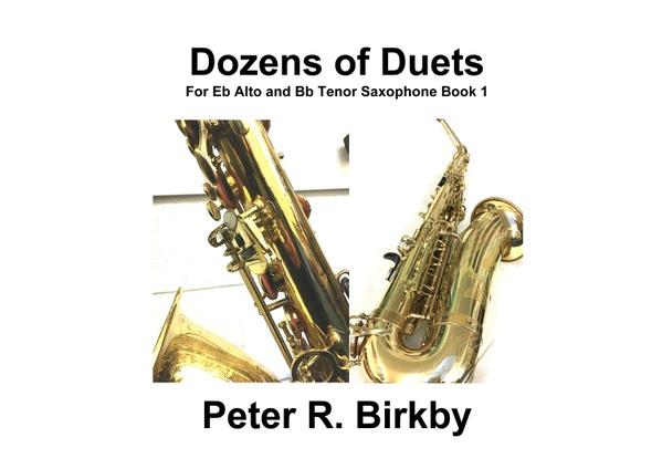 Dozens of Duets for Eb Alto and Bb Tenor Saxophone Book 1