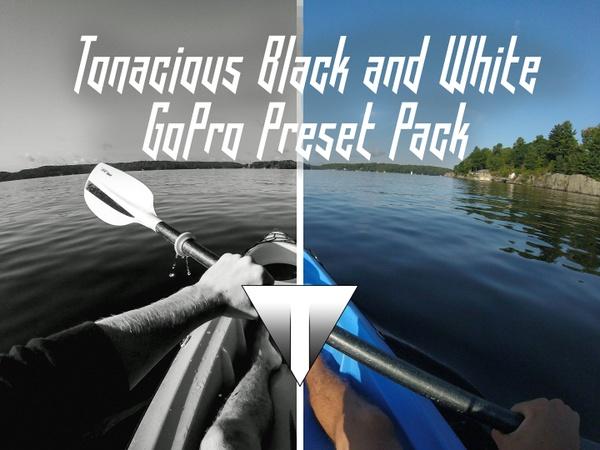 Tonacious Black & White GoPro Preset Pack