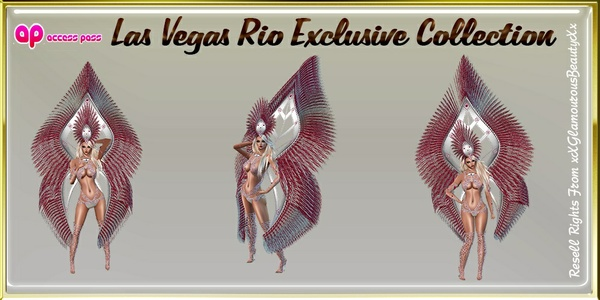 Las Vegas Rio Exclusive Collection Catty Only!!!!